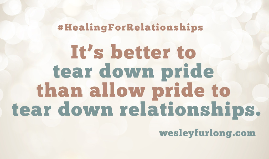 healing for relationships